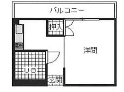 矢嶋ビル[3階]の間取り