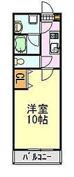 KS・HOYO 79階1Kの間取り