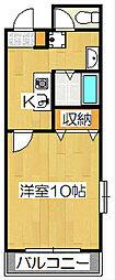 メディナ三条室町[9階]の間取り