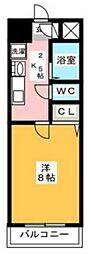 プレアール原田II[4階]の間取り