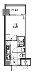 S-RESIDENCE新大阪Garden[2階]の間取り