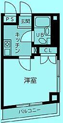 ベラビスタ溝の口[2階]の間取り