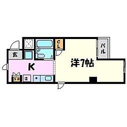 ロイヤルコート武庫之荘[3階]の間取り