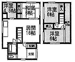 [一戸建] 北海道小樽市入船4丁目 の賃貸【北海道 / 小樽市】の間取り