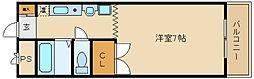 ウインライフ藤井寺[3階]の間取り