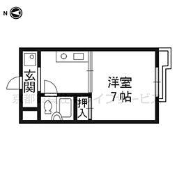 SKBマンション[207号室]の間取り