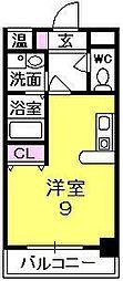 サンコーエグゼクティブアネックス[10階]の間取り