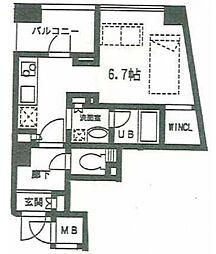 サンピエス池袋[4階]の間取り