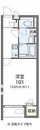 クレイノ大桐[2階]の間取り