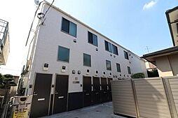 東京都大田区南雪谷4丁目の賃貸アパートの外観