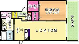 福岡県北九州市戸畑区天神1丁目の賃貸アパートの外観