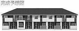 網干区新在家アパート2[102号室]の外観