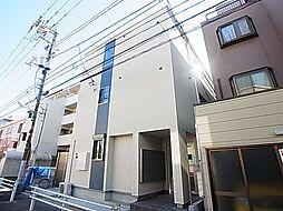 東京都葛飾区西亀有2丁目の賃貸アパートの外観