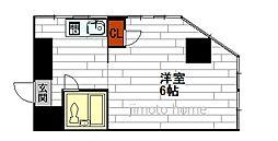 奥内土佐堀東マンション[6階]の間取り