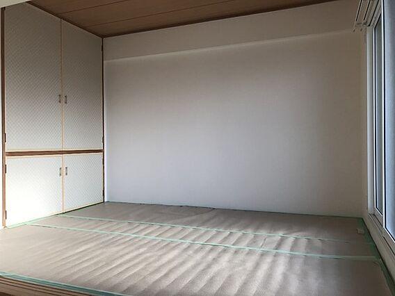 畳表替えの和室