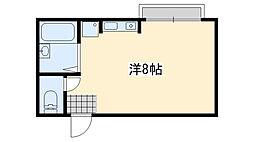 リバーサイドⅡ[2階]の間取り
