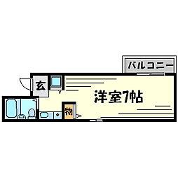 ダイドーメゾン武庫之荘II[4階]の間取り