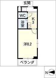 アベニールウヌマ[3階]の間取り