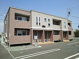北海道札幌市北区屯田五条10丁目の賃貸アパートの外観