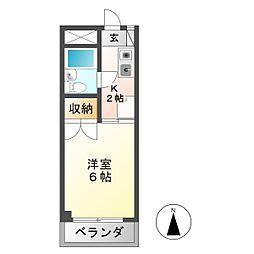 安田学研会館 南棟[2階]の間取り