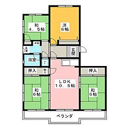 ストーク野田[3階]の間取り