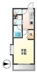 タウンライフ覚王山北[2階]の間取り