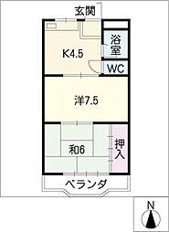 城前田ビル[3階]の間取り