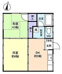 メゾン・ド・YSM[2階]の間取り