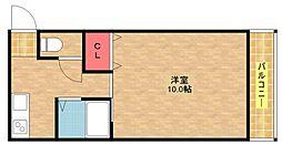 セラ徳島[5階]の間取り