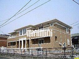 シュガ−バインA[1階]の外観