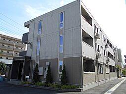 東京都府中市美好町3丁目の賃貸アパートの外観