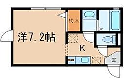 アリア八千代台[1階]の間取り
