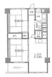 湘南台駅前分譲共同ビル[8階]の間取り