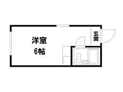 キュービックハウス[2階]の間取り