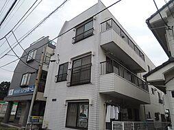 千葉県松戸市新松戸1丁目の賃貸マンションの外観