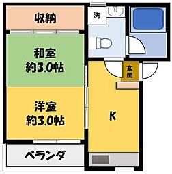 ピンクフラミンゴ[1階]の間取り