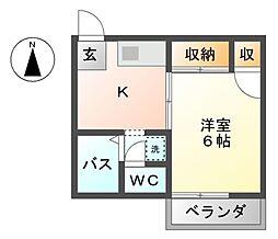 メゾン・ド・ミヨシ[2階]の間取り