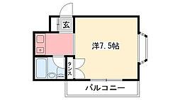 モギハイツ[3階]の間取り