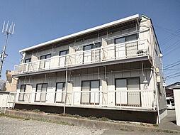 長野県伊那市中央の賃貸アパートの外観