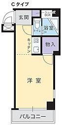 アルファエステート昭和町[102号室]の間取り