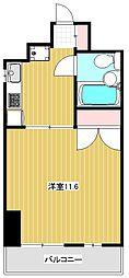 カーム浅喜[3階]の間取り