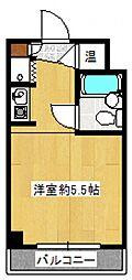 トップ立川[3階]の間取り
