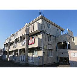 埼玉県草加市北谷2丁目の賃貸アパートの外観
