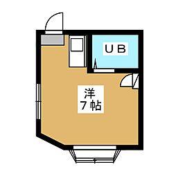 京都時田ハウス[2階]の間取り