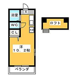 フローレンス千代田[2階]の間取り