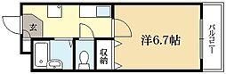 スクエア西賀茂[3階]の間取り