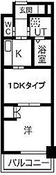 コアレジデンス[12階]の間取り