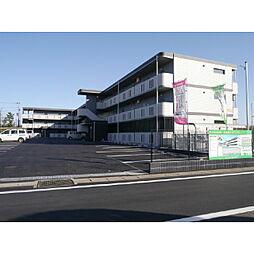 茨城県神栖市木崎の賃貸マンションの外観