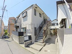 兵庫県西宮市松籟荘の賃貸アパートの外観