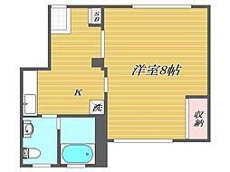 東京都豊島区長崎2丁目の賃貸マンションの間取り